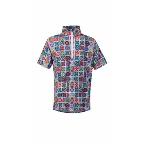 Kerrits Ice Fil Short Sleeve Shirt - Kids - Crossrails