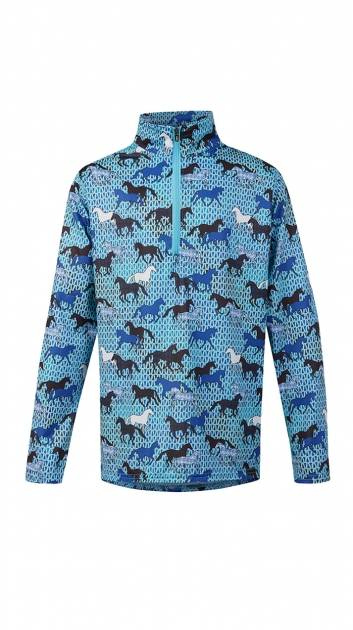 Kerrits Ice Fil Long Sleeve Shirt - Kids - Field of Horses