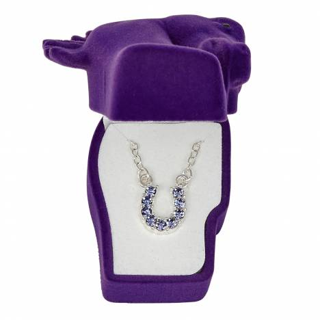 Sparkly Horsehoe Necklace