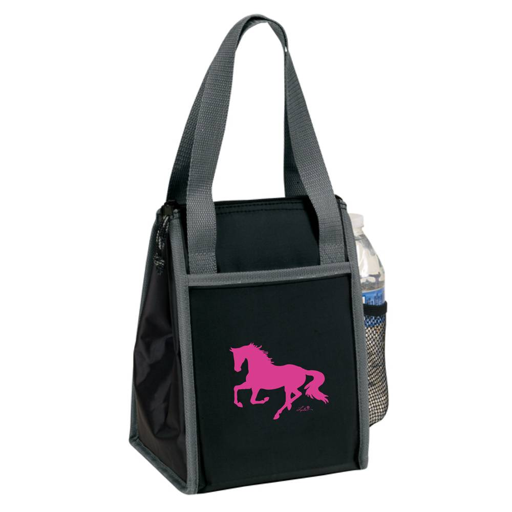 Lila Blakeslee Running Horse Nylon Lunch Sack