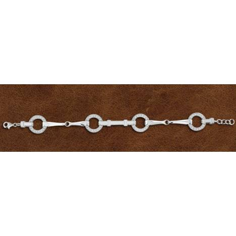Kelly Herd Silver Snaffle Bit Bracelet - Ladies