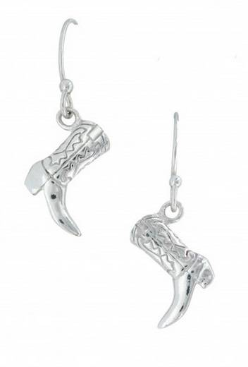 Montana Silversmiths Cowboy Way Boot Earrings