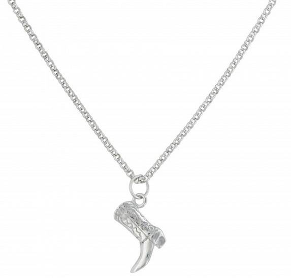 Montana Silversmiths Cowboy Way Boot Necklace