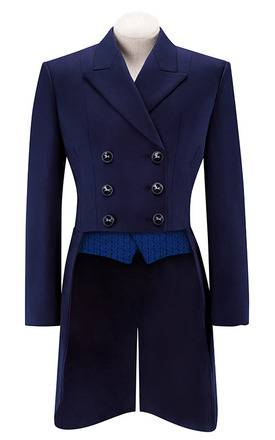 RJ Classics Renvers Lightweight Dressage Shadbelly - Ladies - Navy