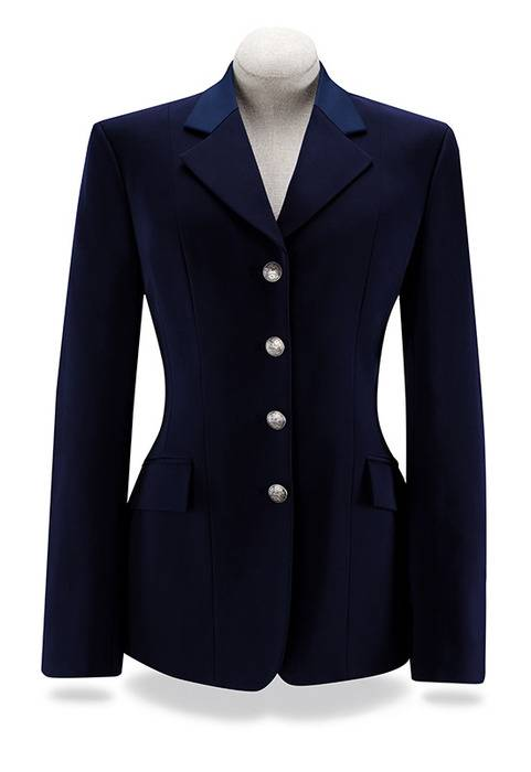 RJ Classics Palm Soft Shell Show Coat - Ladies - Navy/Blue