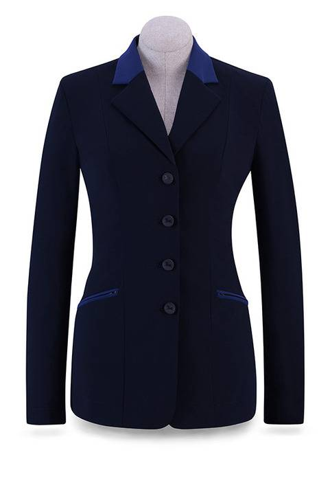 RJ Classics Victory Show Coat - Ladies - Navy/Blue