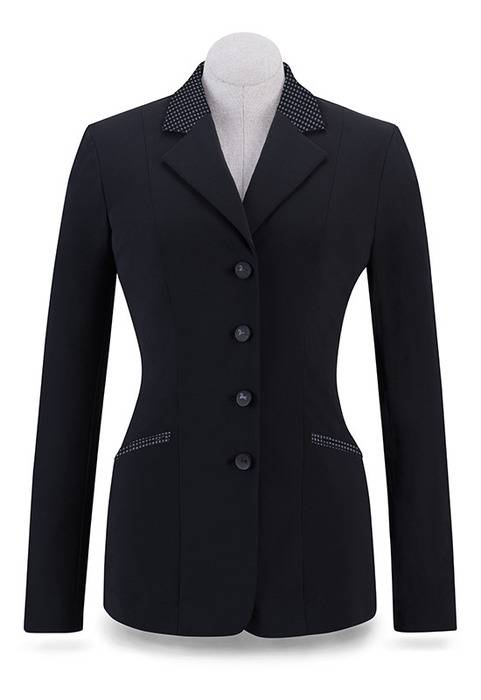 RJ Classics Victory Show Coat - Ladies - Black/Pattern
