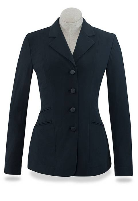 RJ Classics Washington Show Coats - Ladies - Black Herringbone