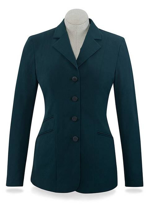RJ Classics Washington Show Coats - Ladies - Green Herringbone