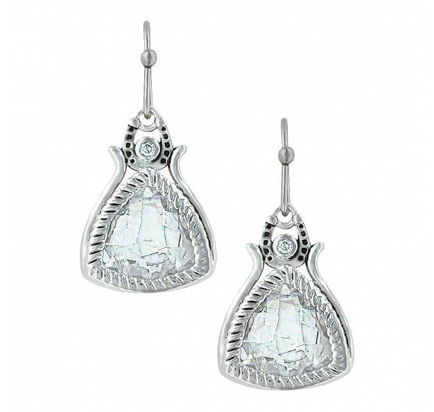 Montana Silversmiths Hidden Treasure Roped Treasure Earrings