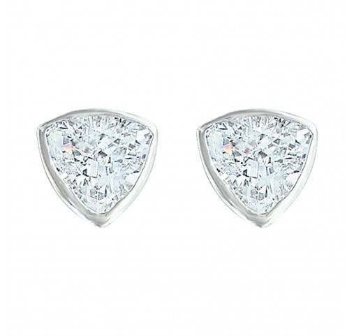 Montana Silversmiths Treasured Trillion Sparkling Earrings