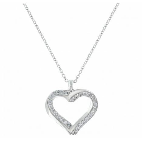 Montana Silversmiths Bright Hearts Entwined Necklace