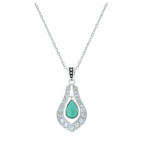 Montana Silversmiths School Of Nature Bling Drop Necklacke