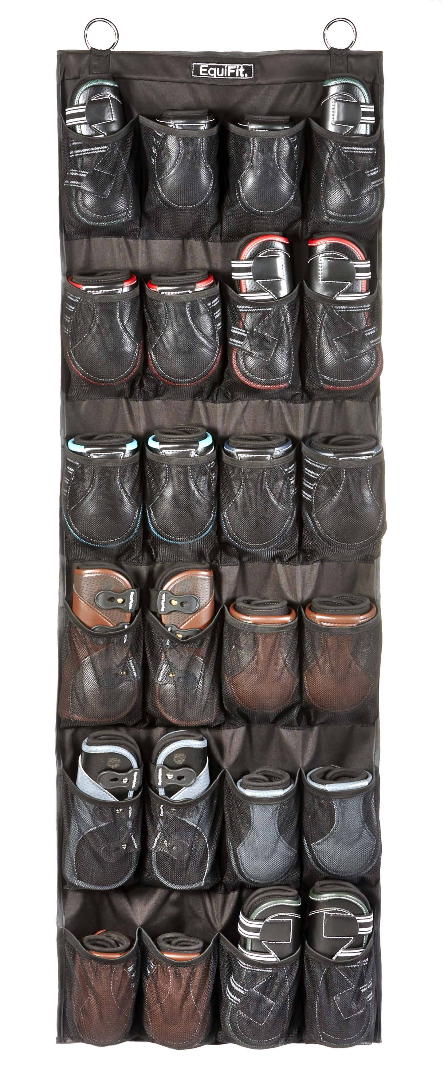 Equifit Hanging Boot Organizer - 24 Pockets