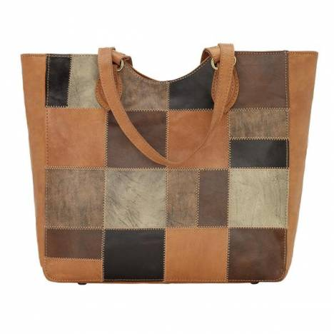 American West Groovy Soul Zip Top Tote