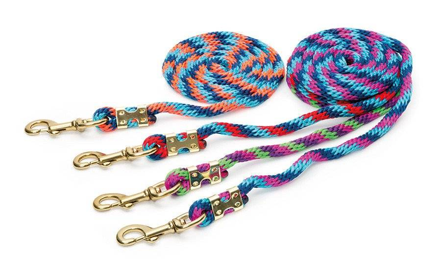 Shires Topaz Multi Color Lead Rope
