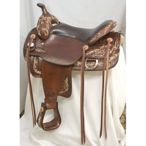 Tex Tan Bitterroot Flex Trail Saddle