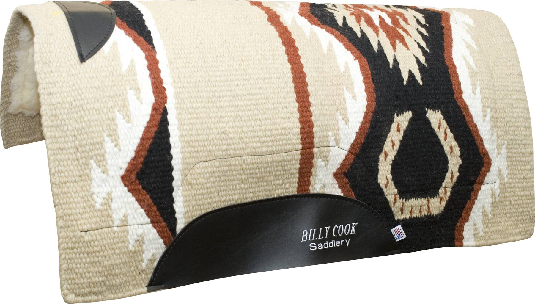 Billy Cook Horseshoe Show Pad