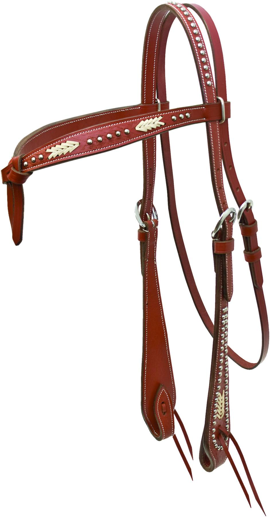 Action Knotted Browband Headstall