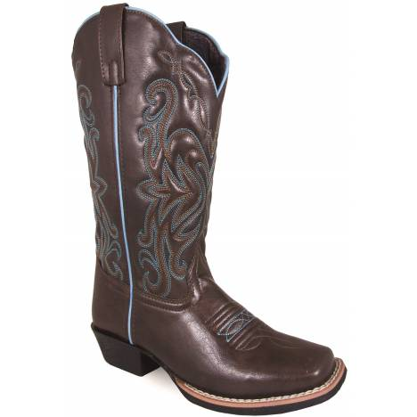 Smoky Mountain Somerton Square Toe Boots - Ladies - Brown