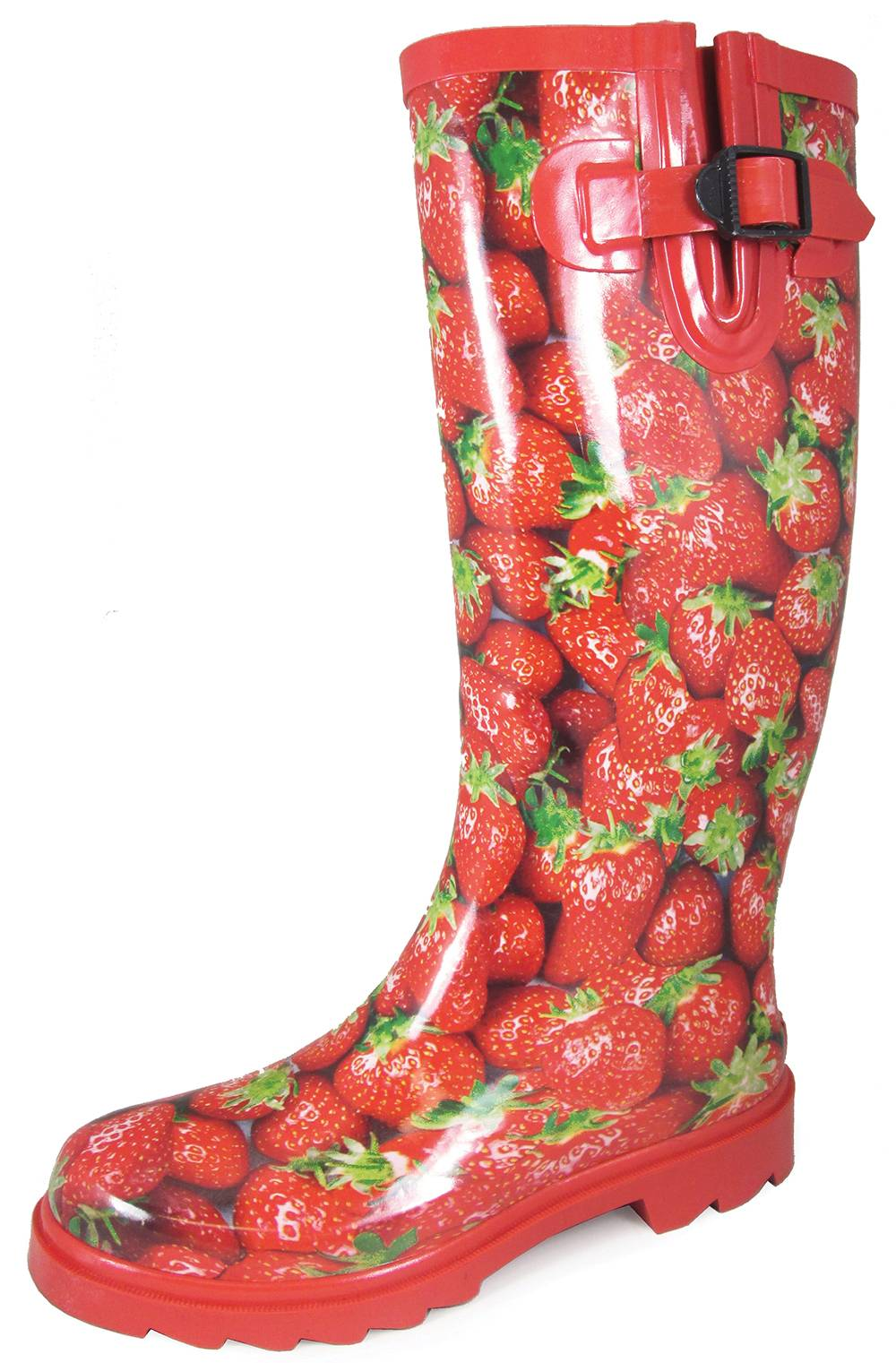 Smoky Mountain 15'' Rubber Boots - Ladies - Strawberry Print