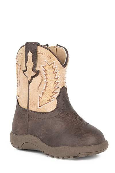 Roper Cowbabies Billy Faux Leather Western Boots - Infant Boys