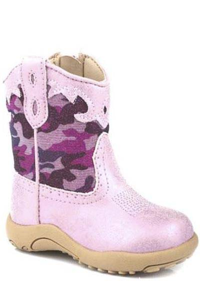 Roper Cowbabies Glitter Camo Western Boots - Infant Girls