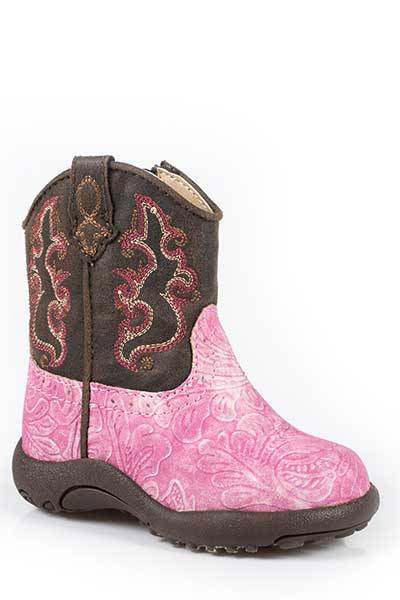 Roper Cowbabies Toolie Western Boots - Infant Girls