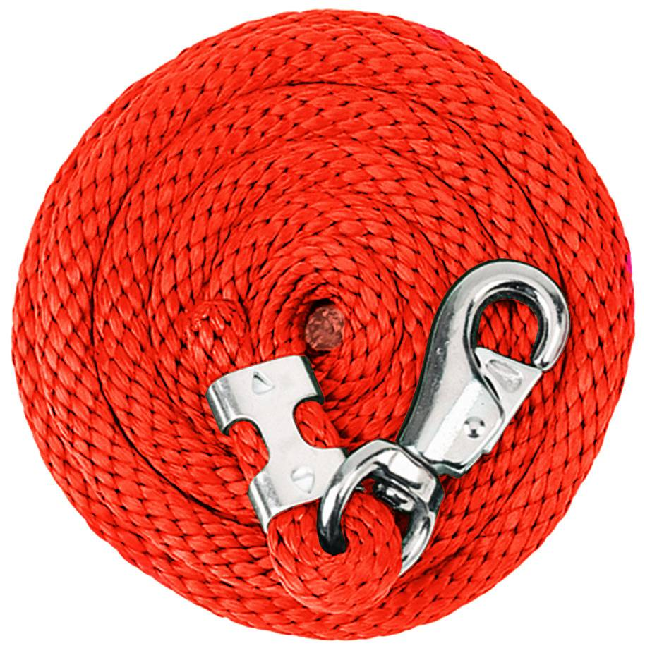Weaver Lead Rope with Nickel Plated Bull Snap