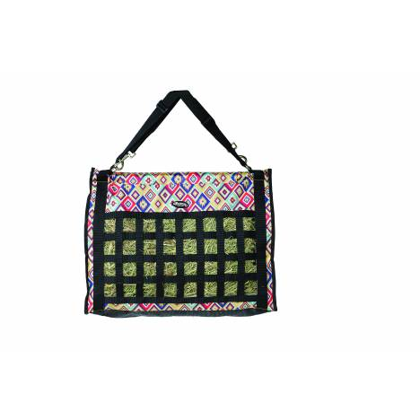 Weaver Leather Slow Feed Hay Bag - Aztec