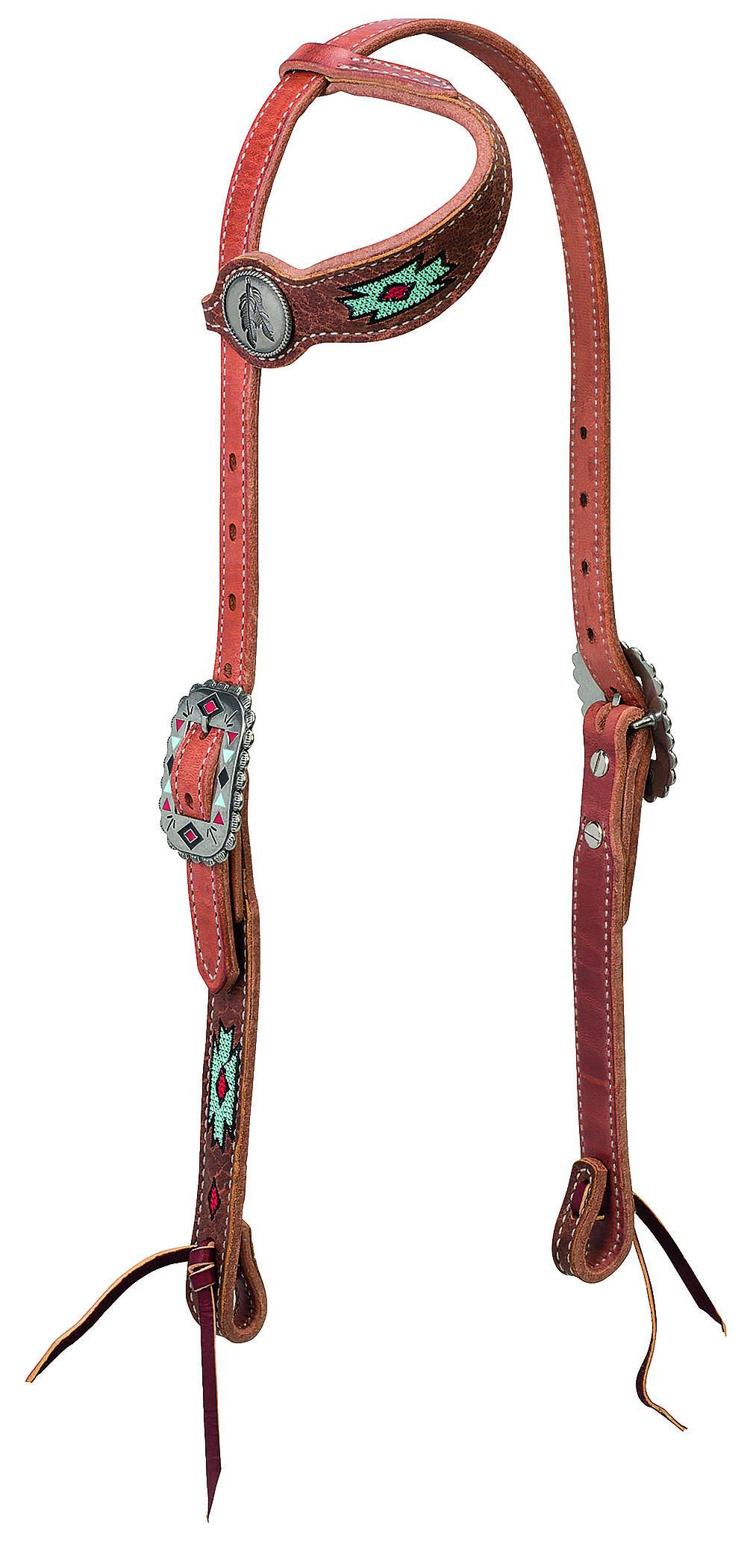 Weaver Native Spirit Sliding Ear Headstall