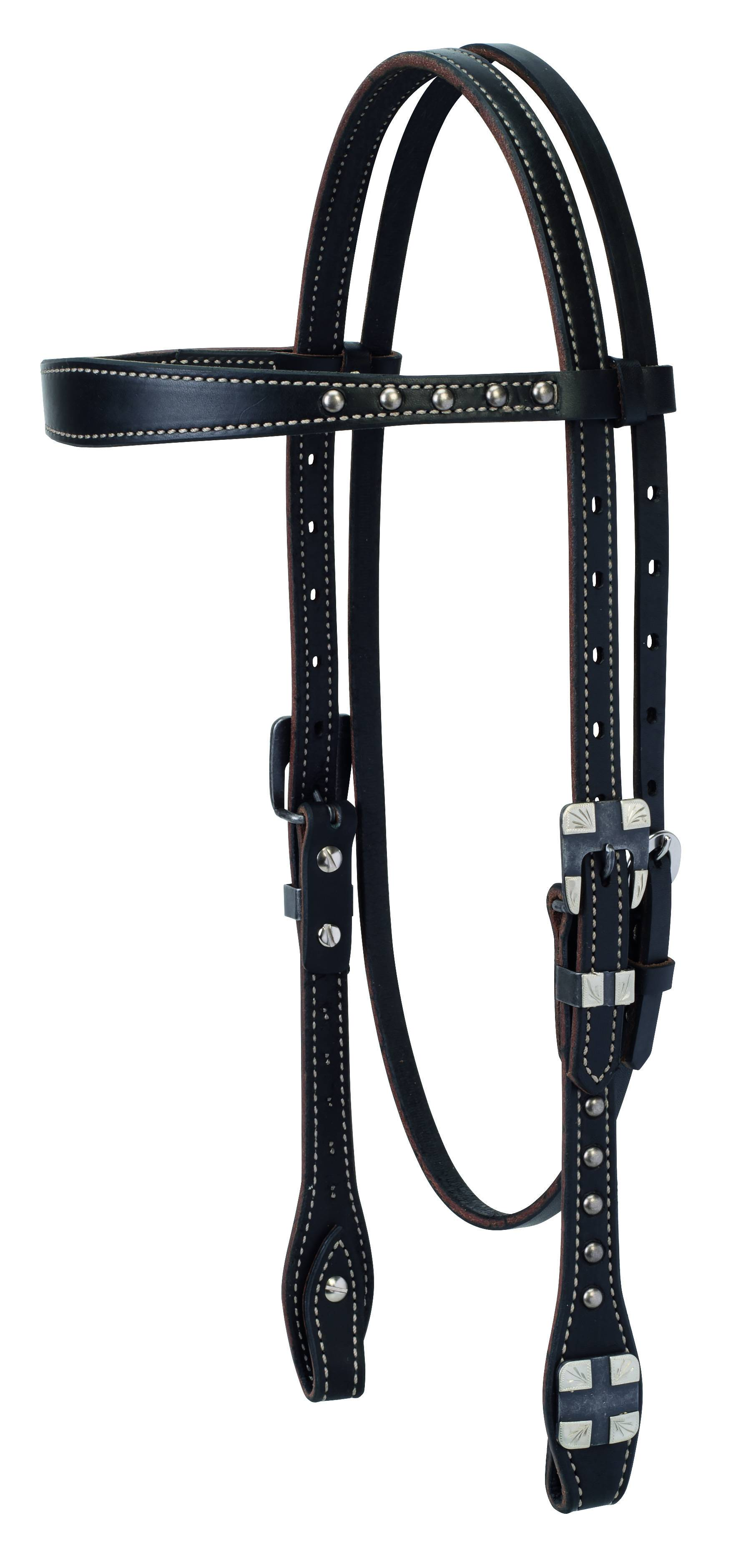 Weaver Roundtable Browband Headstall