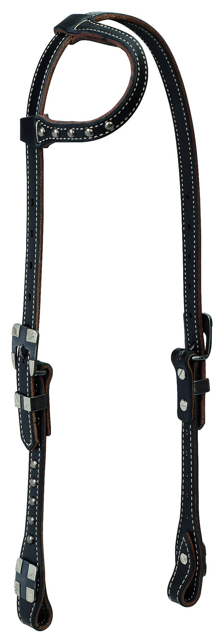 Weaver Roundtable Sliding Ear Headstall