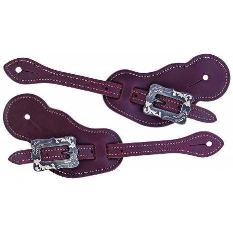 Weaver Buckaroo Oiled Harness Leather Spur Straps