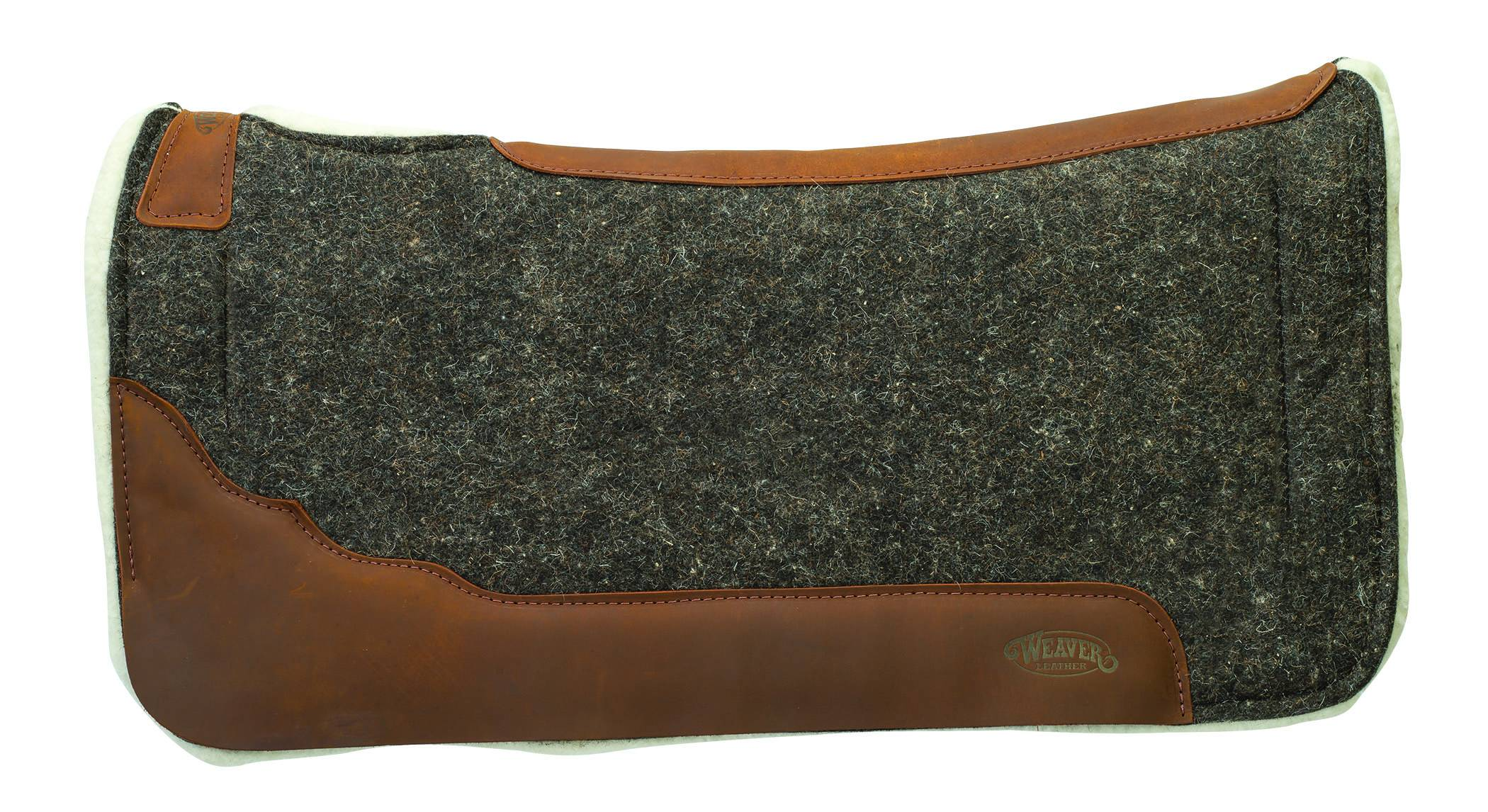 Weaver Impact-Absorbing EVA Sport Foam 100% Wool And Merino Wool Fleece Saddle Pad