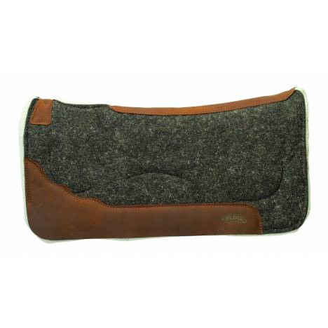 Weaver 100% Wool Felt - Merino Wool Fleece Saddle Pad With Gel Insert