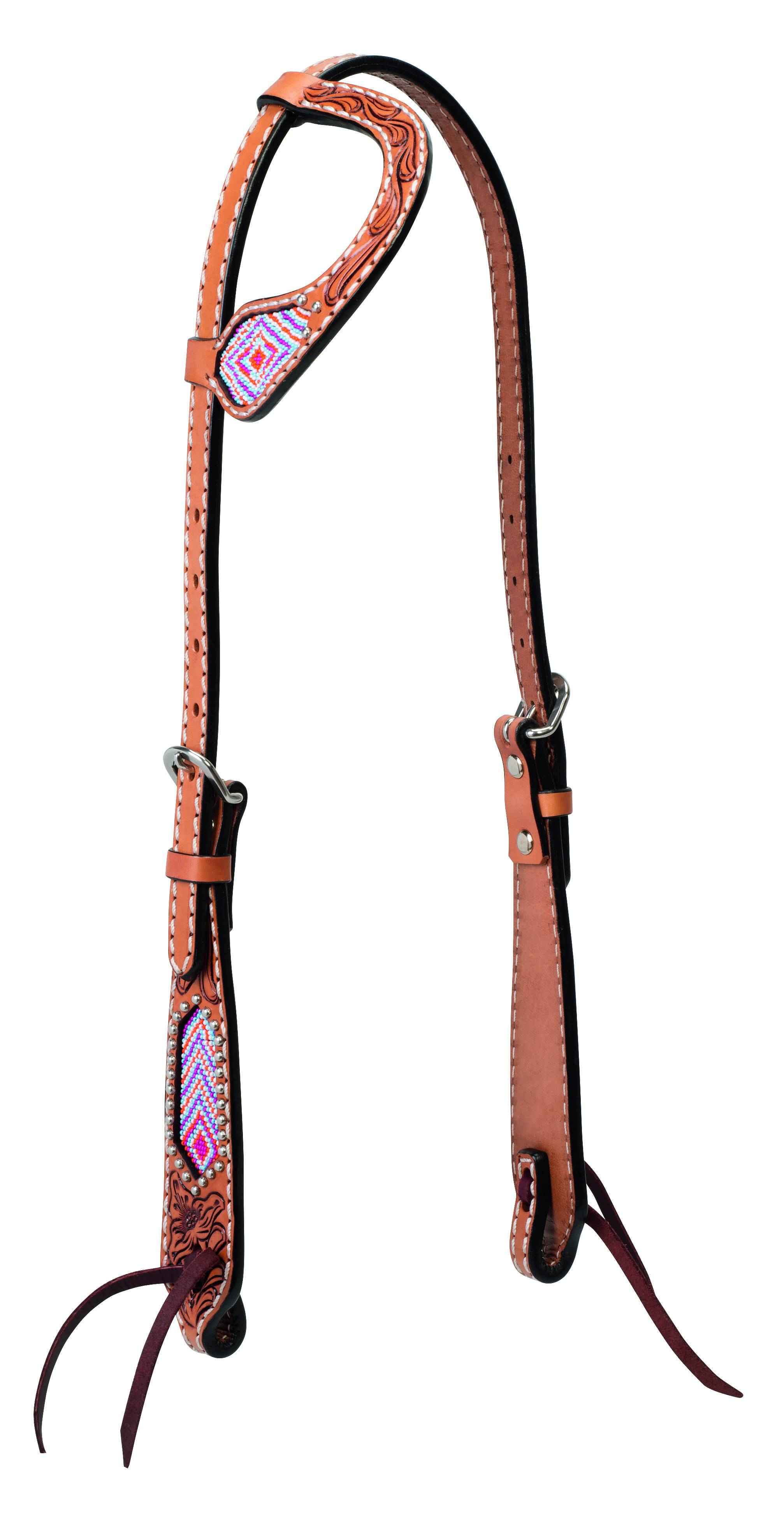 Weaver Diamond Beaded Sliding Ear Headstall