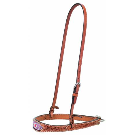 Weaver Diamond Beaded Tapered Noseband