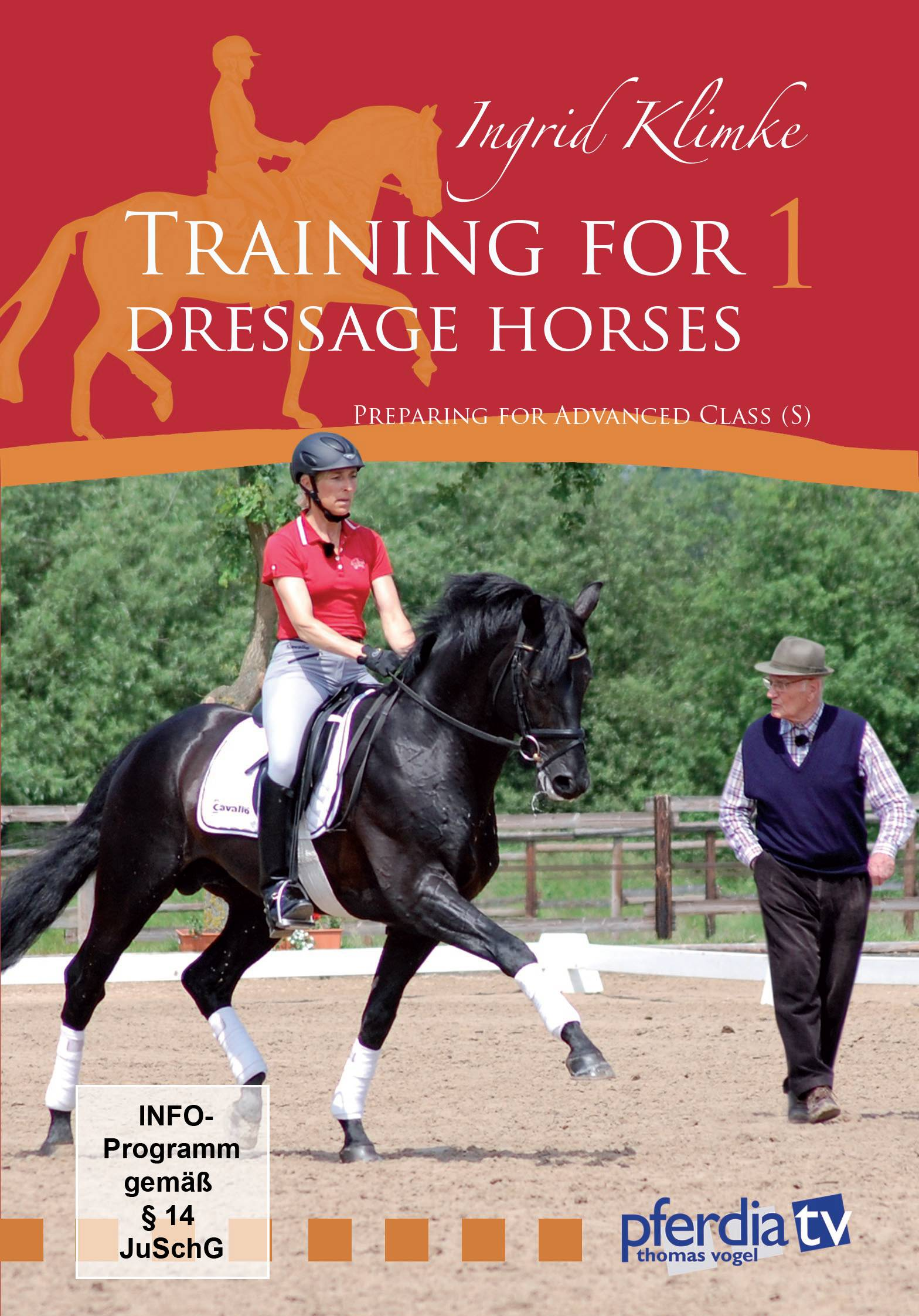 Training For Dressage Horses I DVD
