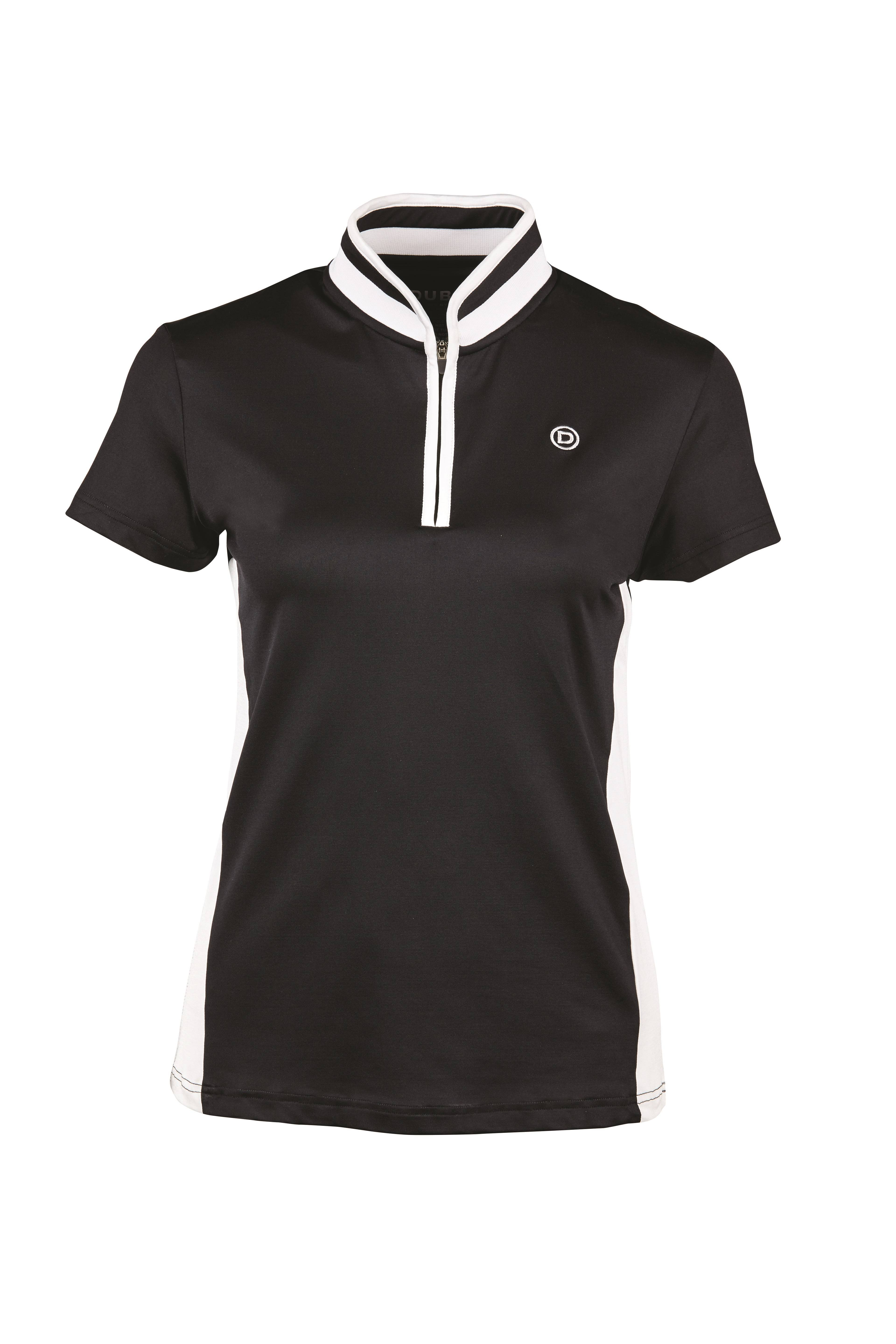 Dublin Shadowfax CDT Short Sleeve Zip Thru Top - Ladies
