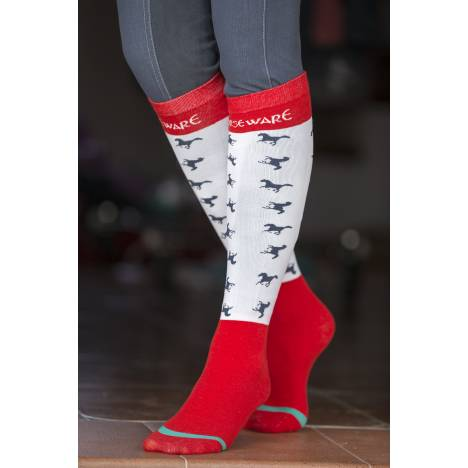 Horseware 2 Pack Knee Socks - Ladies
