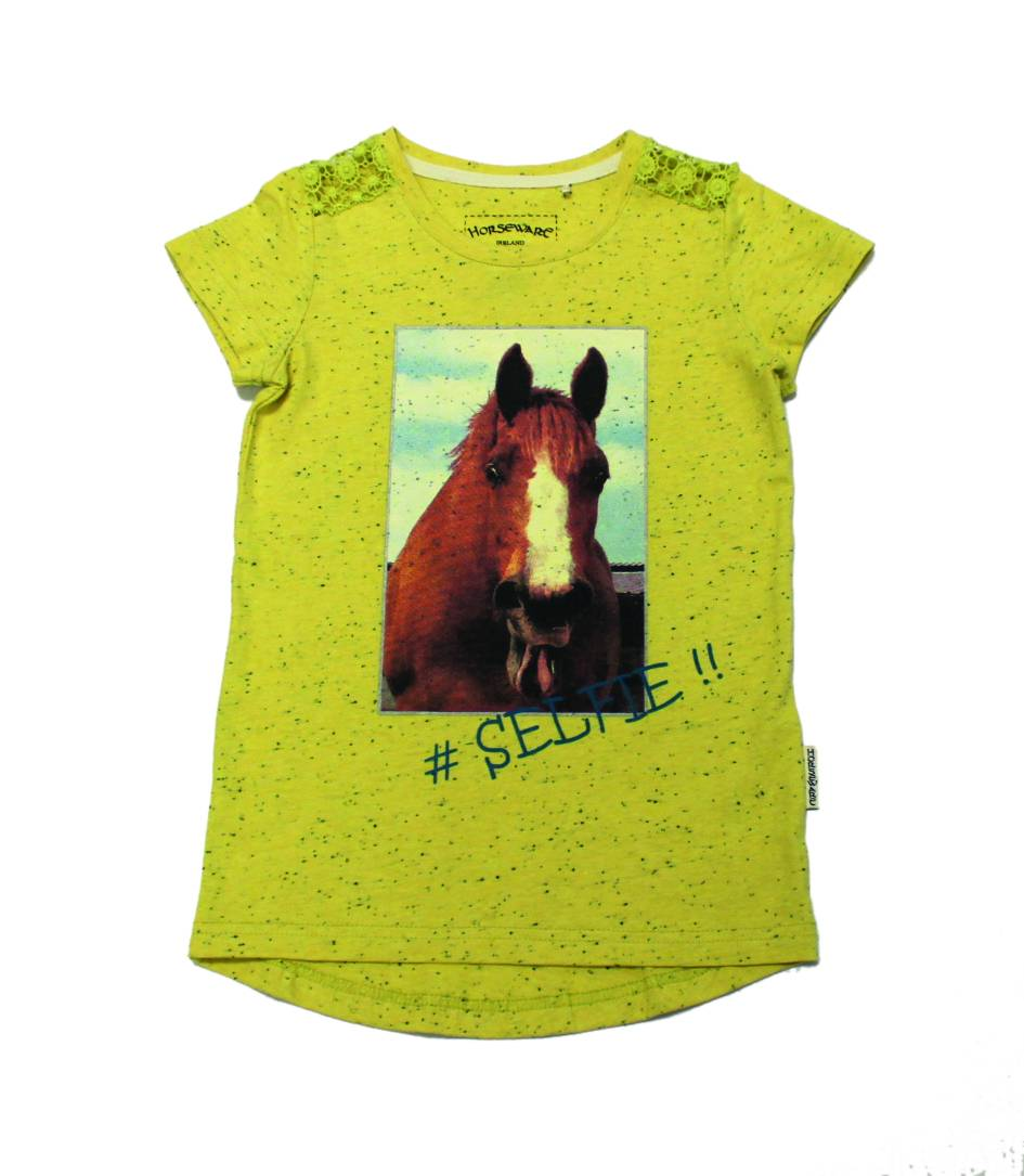 Horseware Short Sleeve Novelty Tee - Kids
