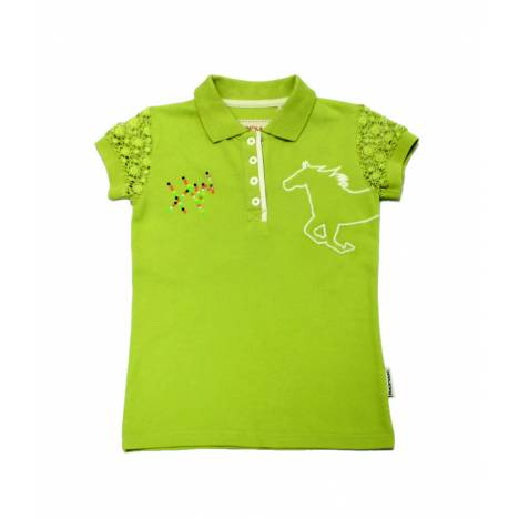 Horseware Short Sleeve Pique Polo Shirt - Kids