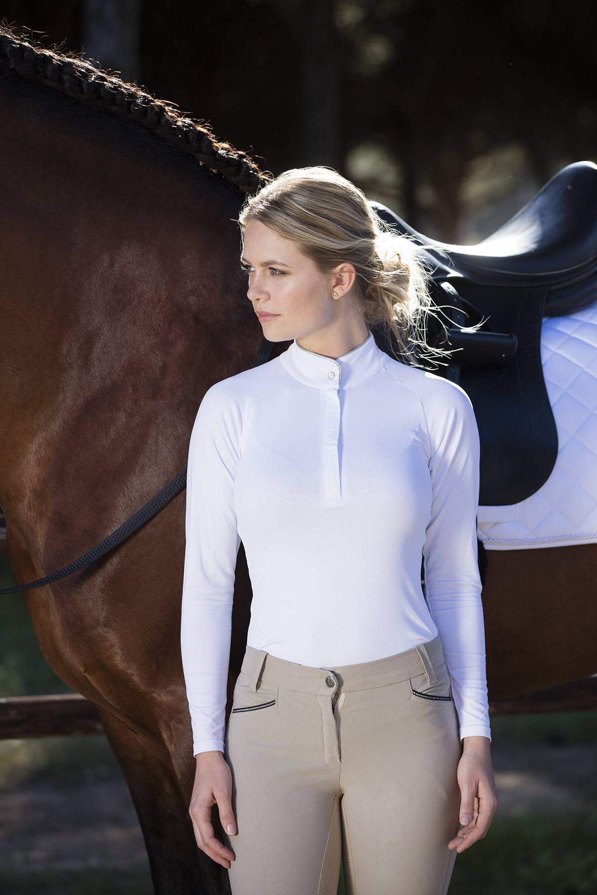 Horseware Sara Competition Long Sleeve Shirt - Ladies