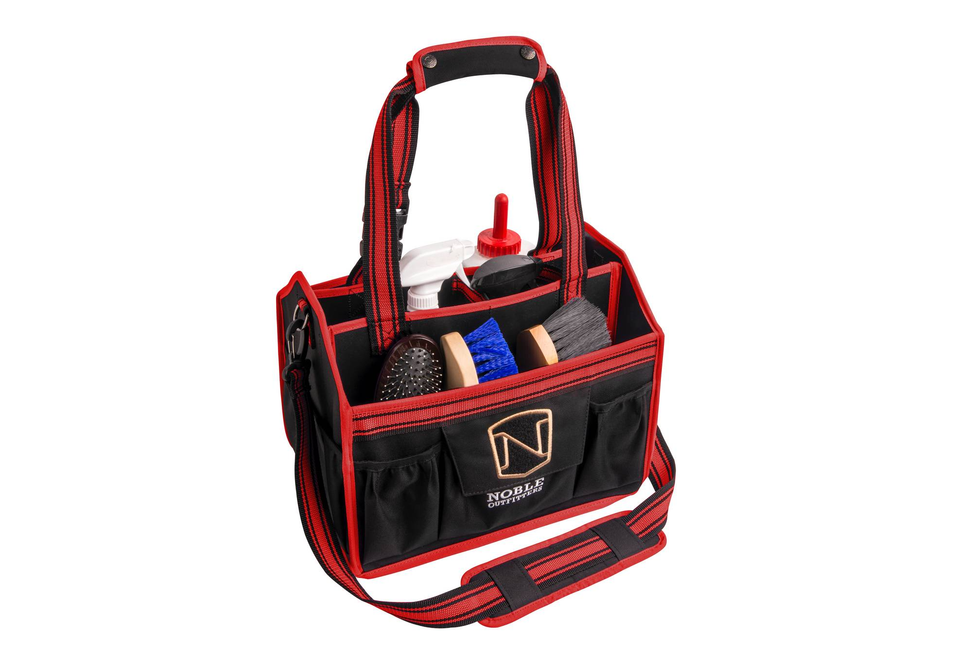 Noble Outfitters EquiEssential Grooming Tote-Black