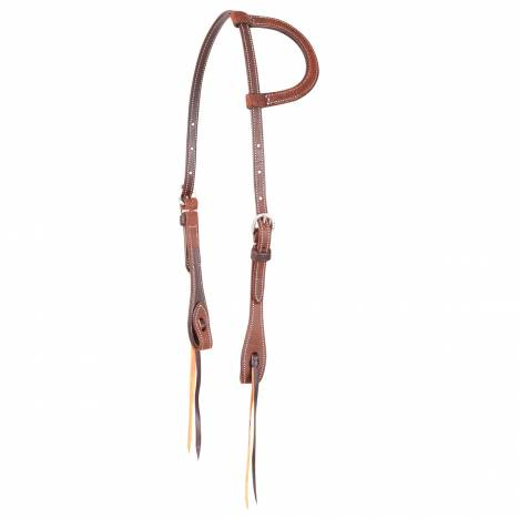 Martin Knots Split Ear Headstall- Roughout