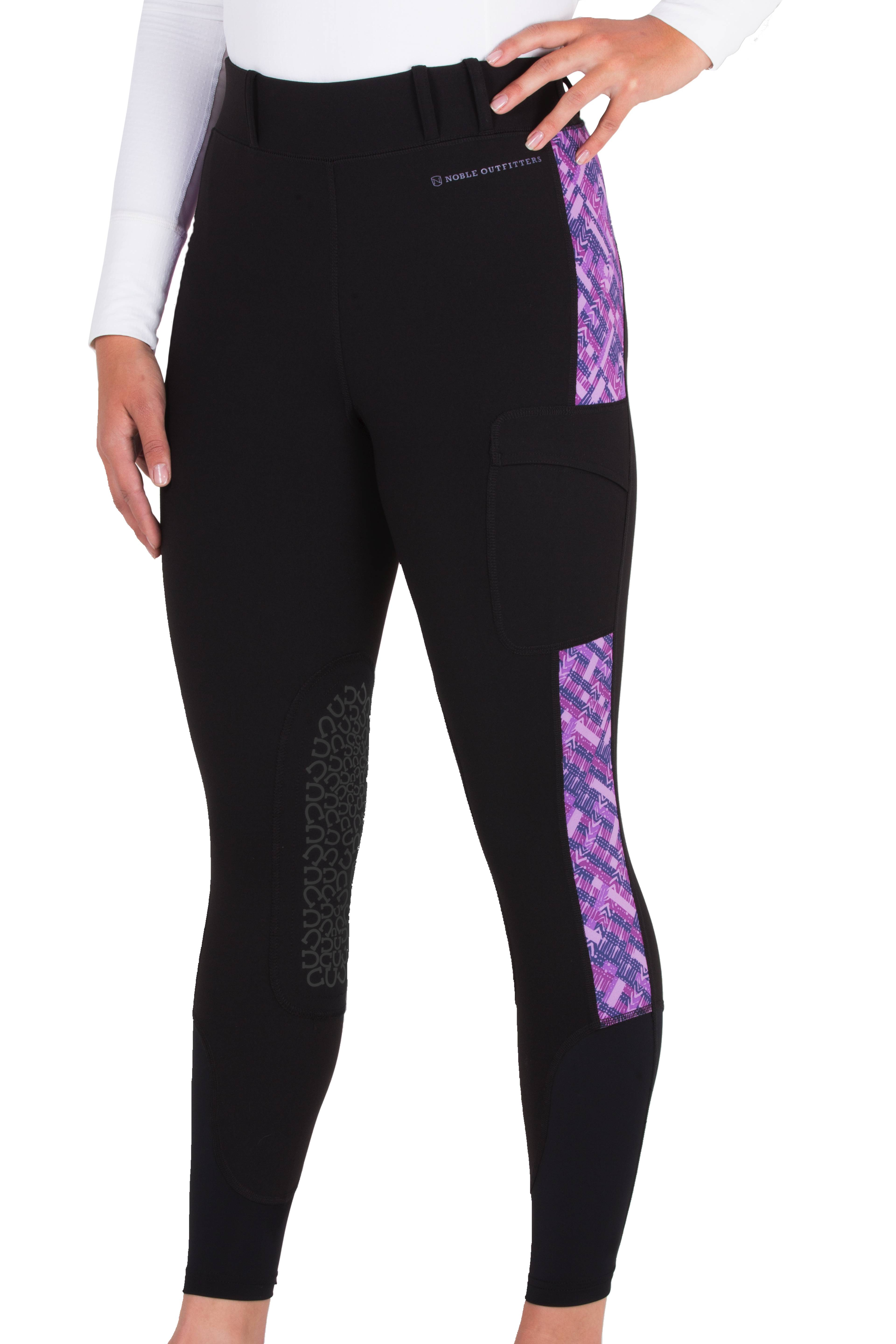 Noble Outfitters Printed Balance Riding Tights - Ladies