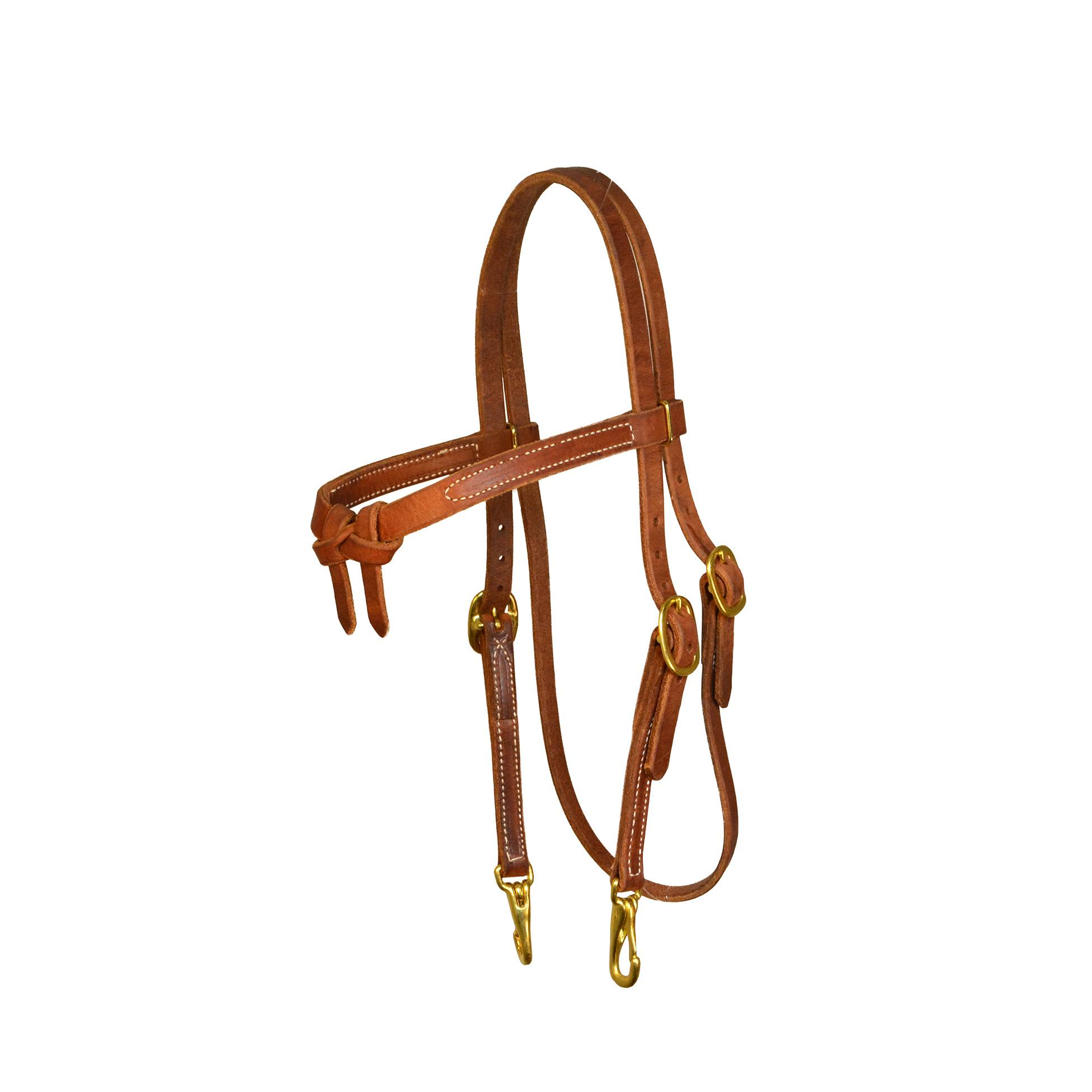 Perri's Knotted Browband Headstall