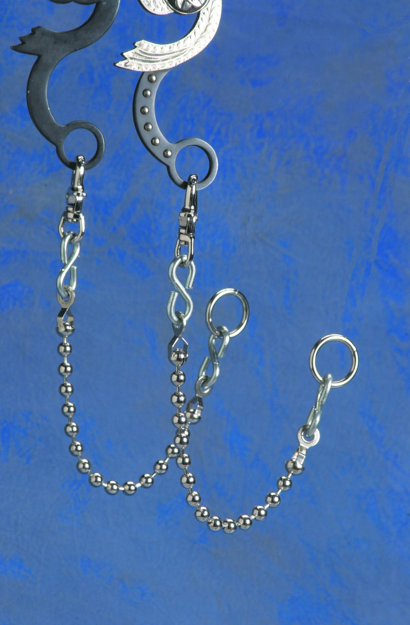 Colorado Saddlery Ball Reins Chains