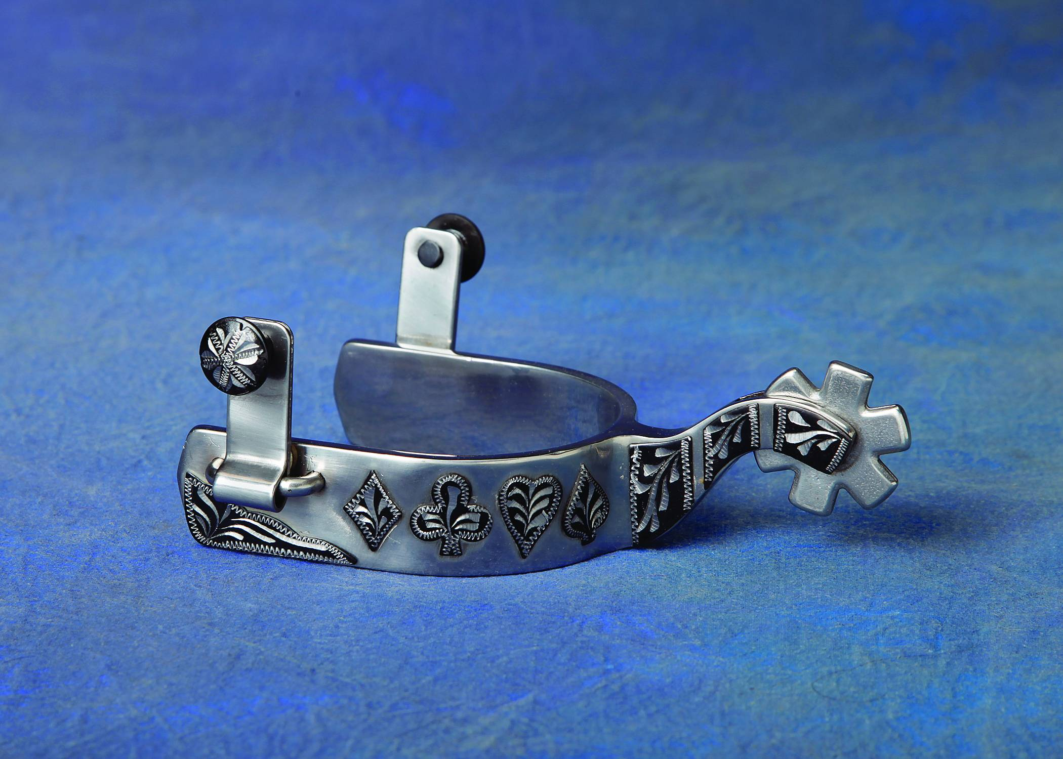 Colorado Saddlery Black Hills Gambler Spurs